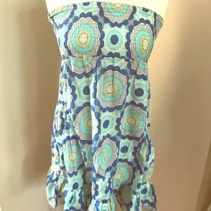 Swimsuit cover up, also worn as a summer dress!